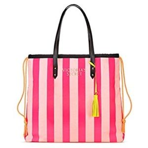 Victoria Secret Pink striped Pink Limited Edition